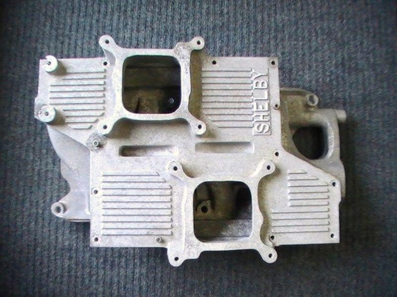 Boss 302 Intake Manifold >> 289-302 Shelby Cross Ram intake