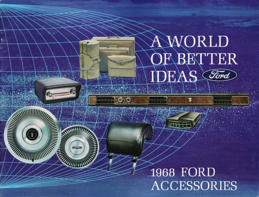 68 Ford Accessories Catalog