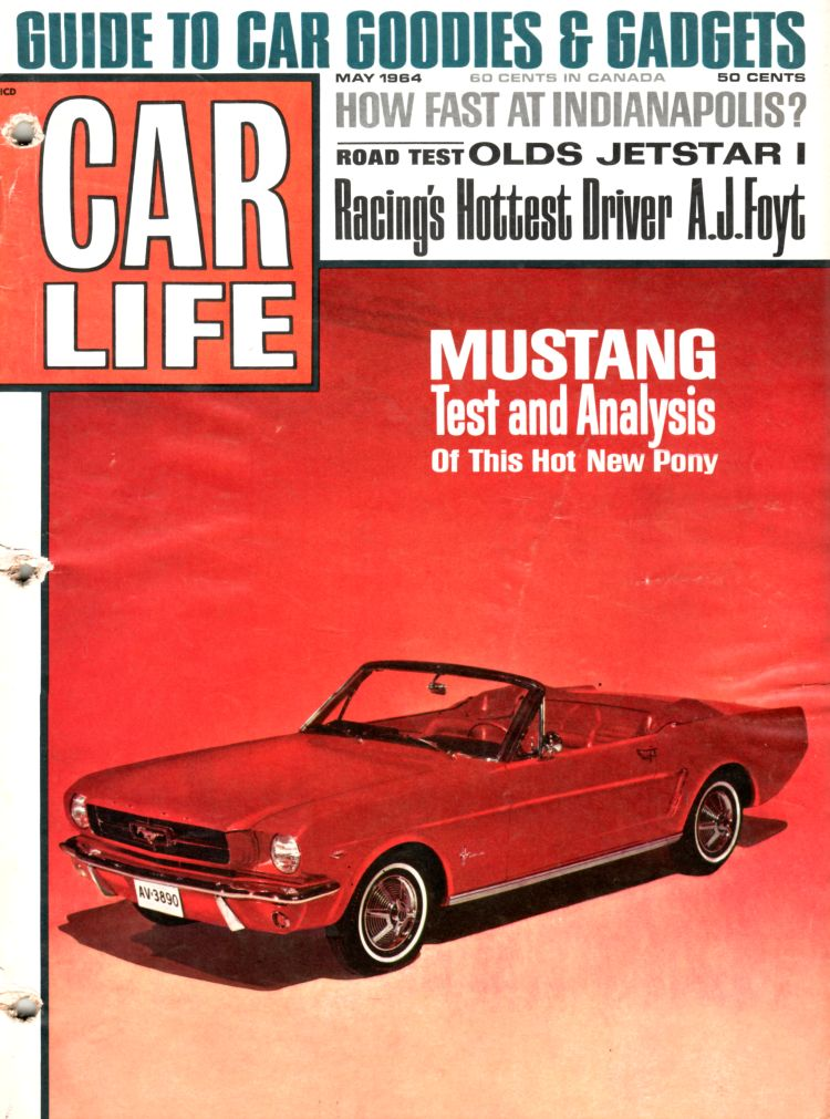 Cl Mustang >> Car Life May 1964