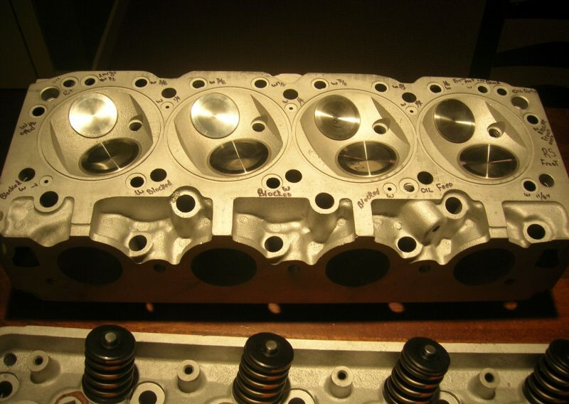 Boss on 426 Hemi Engine Heads