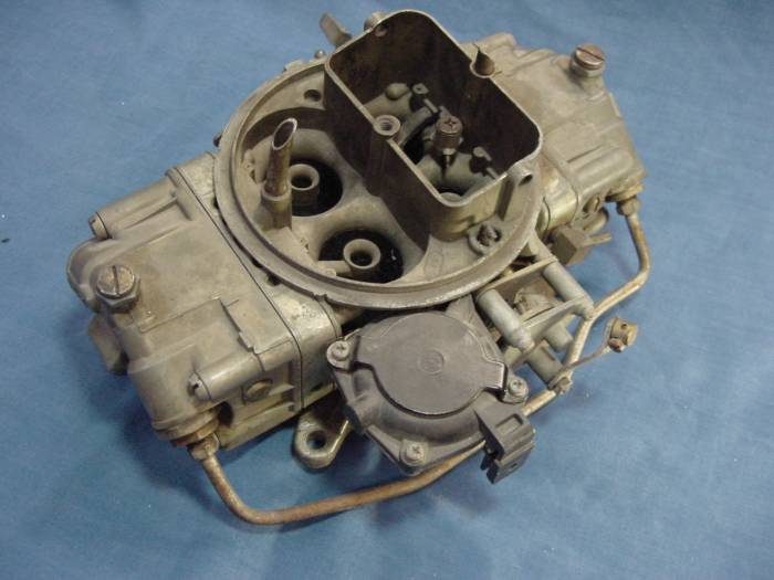 Ford and Mustang holley 4150 carburetors