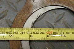 Small block Ford flywheel size compare